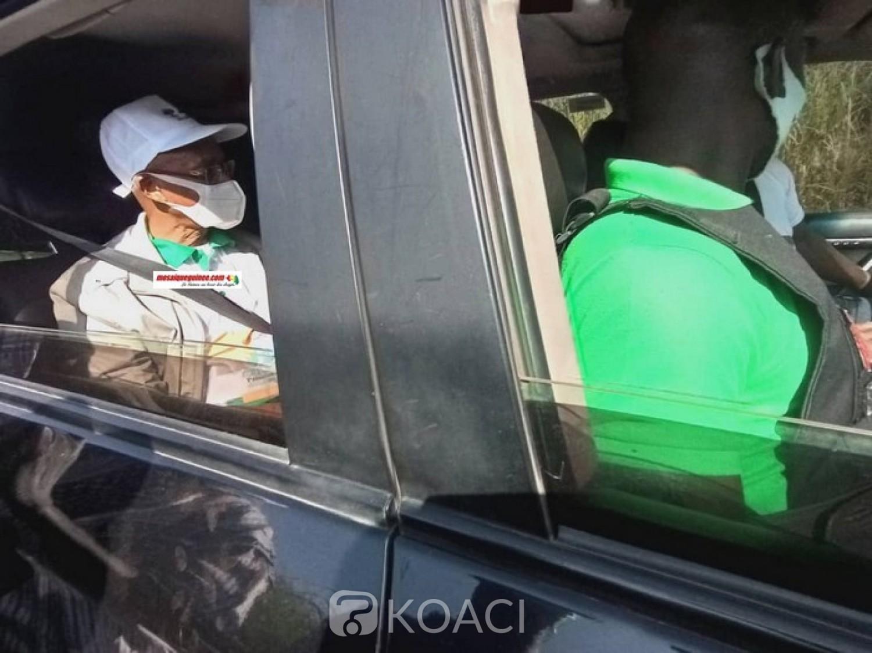 Guinée : Le cortège de Cellou Dalein Diallo bloqué à Kankan, fief d'Alpha Condé