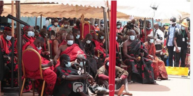 Côte d'Ivoire : Sa majesté Nanan Amian Kabran Dyhiè II nouveau roi du Djuablin