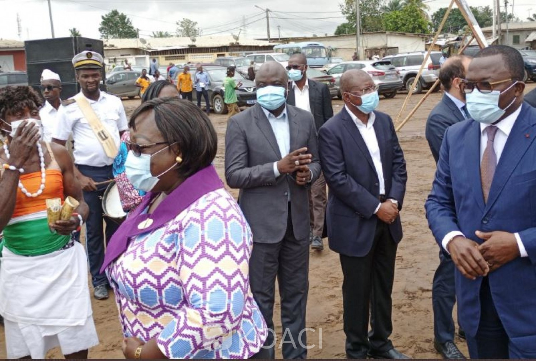 Côte d'Ivoire : Lancement de l'accompagnement social des populations du village d'Akouédo suite à la fermeture de la décharge