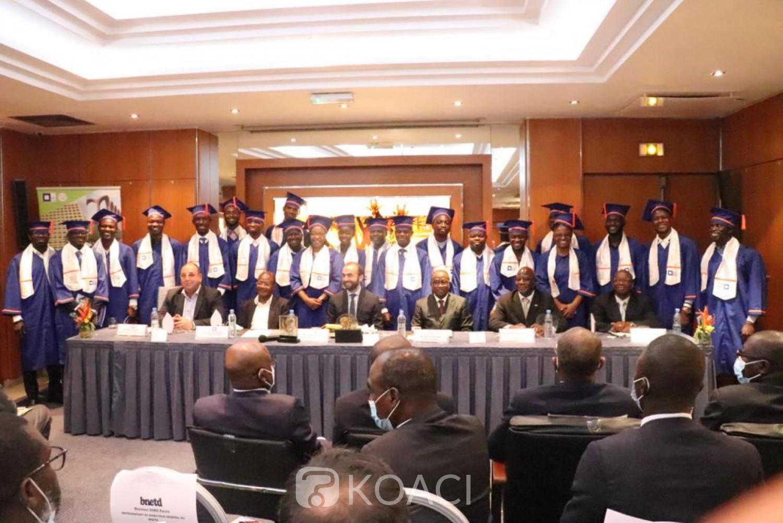Côte d'Ivoire : INP-HB, Master en management des grands projets de construction, 22 auditeurs lancés sur le terrain, Isaac Dé encourage, le partenariat public-privé