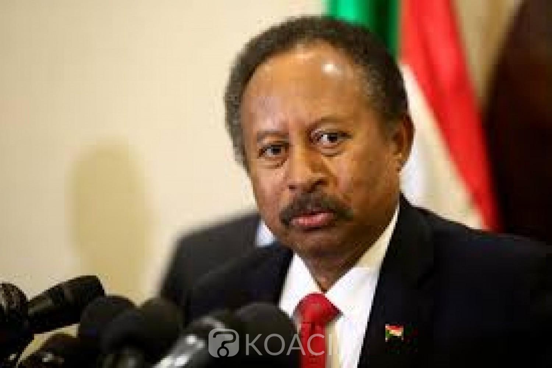 Soudan : Le Premier ministre Abdallah Hamdok accuse les USA de «paralyser» l'économie