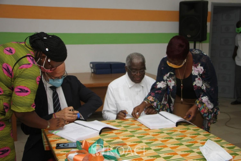 Côte d'Ivoire : Bouaké, la reconstruction du marché de plus en plus une réalité, le contrat du lot B signé