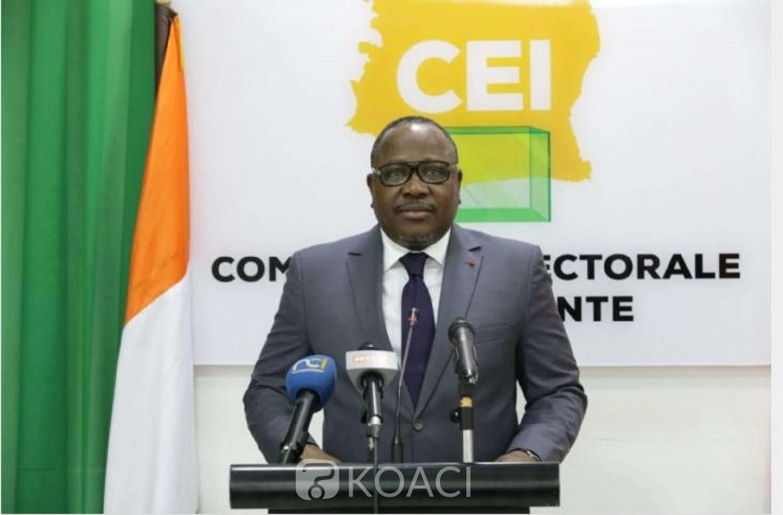 Côte d'Ivoire : Ouverture de la campagne présidentielle, la CEI réaffirme qu'elle est prête et lance un message aux candidats et électeurs