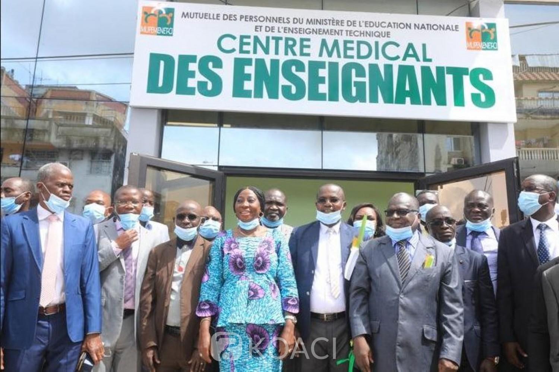 Côte d'Ivoire : Avant les logements annoncés, un centre médical d'un coût de 300 millions FCFA pour les enseignants ouvert à Yopougon