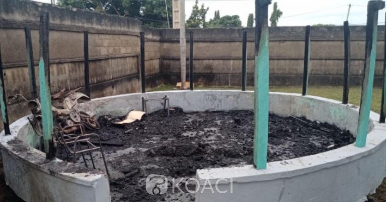 Côte d'Ivoire : Marahoué, des individus non identifiés ont tenté d'incendier la CEI régionale, de nombreux dégâts matériels