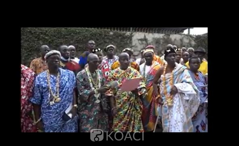 Côte d'Ivoire : Amon Tanoh, déchu de ses droits coutumiers après ses propos d'une gravité sans borne tenus au cours d'un meeting de l'opposition