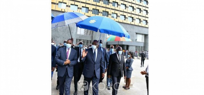 Côte d'Ivoire : Cité Administrative, la Tour B rénovée mise à la disposition des travailleurs de la BAD