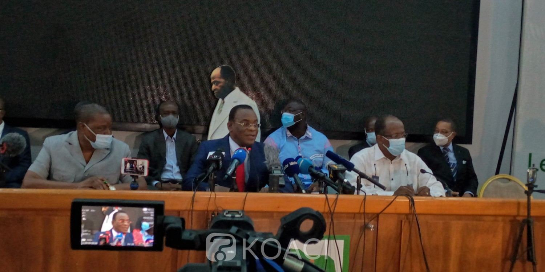Côte d'Ivoire : Élection 2020, boycott actif de l'opposition, Affi martèle: « Nous n'avons pas de droit de reculer, nous irons jusqu'au bout »