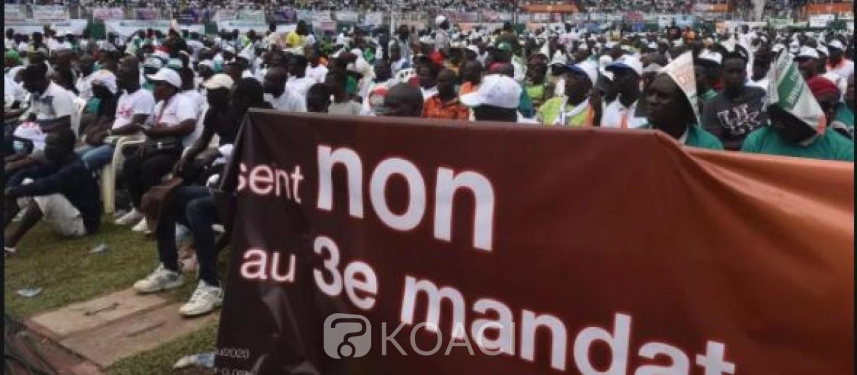Côte d'Ivoire : Les  marches et autres manifestations  sur la voie toujours suspendues exceptées celles liées à la campagne présidentielle