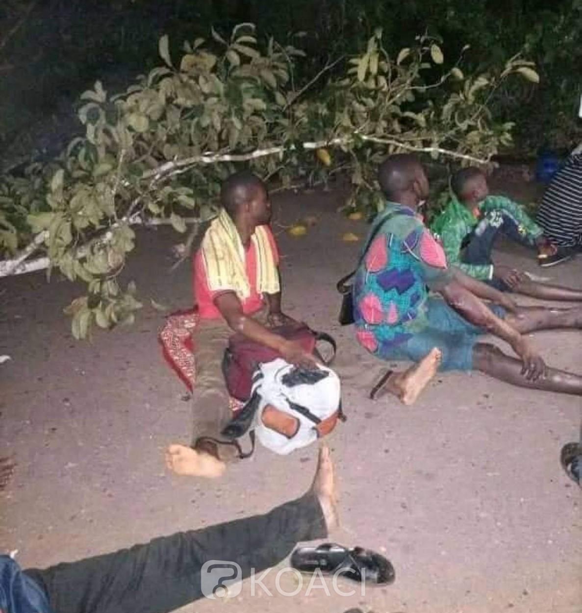 Côte d'Ivoire : Mot d'ordre de désobéissance civile, avec les barrages, un car fait une sortie de route et fait plusieurs victimes