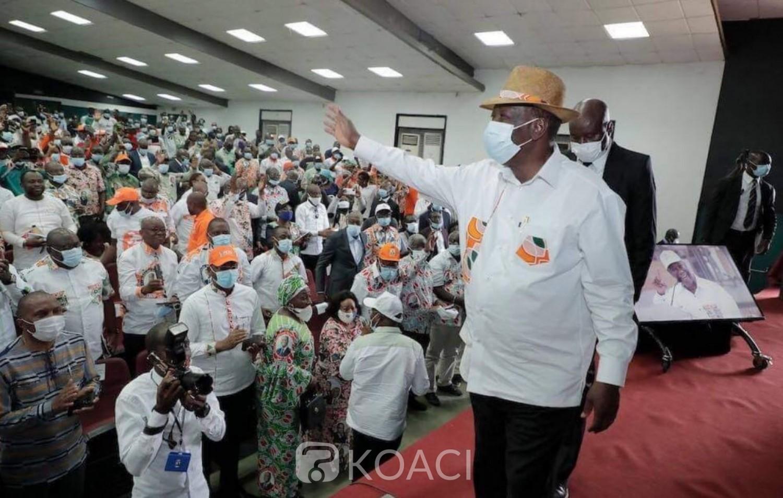 Côte d'Ivoire : Campagne présidentielle, depuis Bouaké, Ouattara aux candidats de l'opposition : « s'ils sont garçons, qu'ils aillent aux élections et les Ivoiriens vont nous départager»