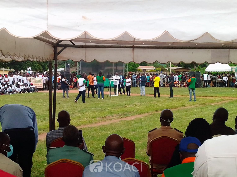 Côte d'Ivoire : Botro, au lancement des travaux des voiries, le DG du trésor conseille les jeunes