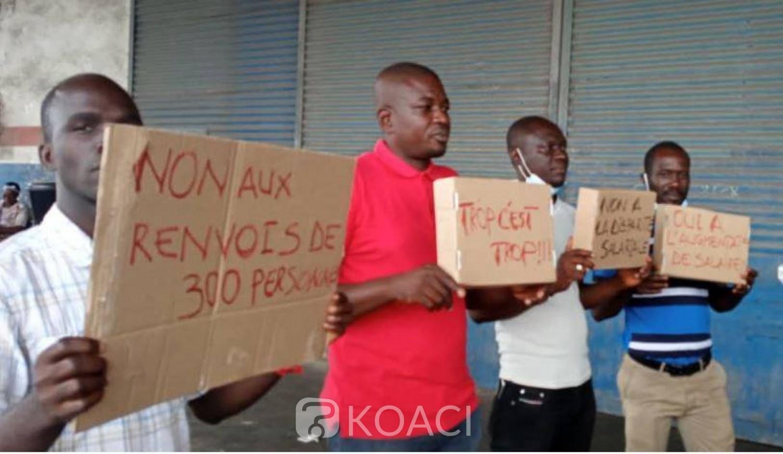 Côte d'Ivoire : CDCI, grève des travailleurs après le début d'une vague de licenciement