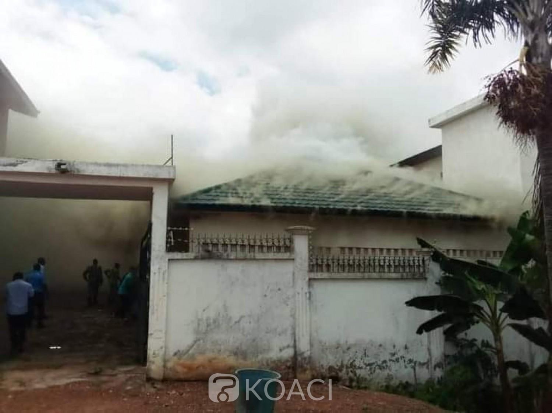 Côte d'Ivoire : À Bongouanou, des individus mettent le feu à la maison d'Affi N'guessan