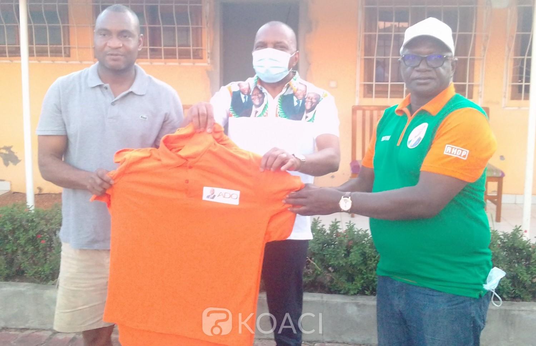 Côte d'Ivoire : Bouaké, Jean Claude Kouassi équipant sa troupe pour la campagne déclare : « Quand on aura une victoire éclatante, personne ne va s'en plaindre...»