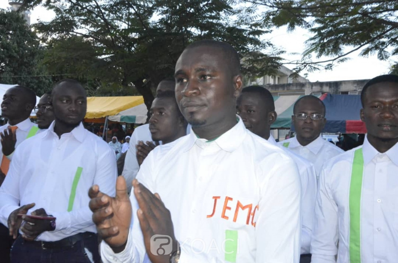 Côte d'Ivoire : Bouaké, investi président de la Jem CI, Gnande Roméo aux jeunes : « qu'on n'arrive plus à manipuler la jeunesse...»