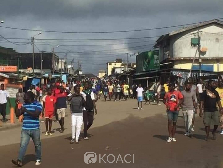 Côte d'Ivoire : Désobéissance civile, vives tensions à Bonoua suite aux manifestations de rue