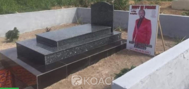 Côte d'Ivoire : Après des mois de mésententes, l'artiste   N'st Cophies enfin inhumé à Dimbokro