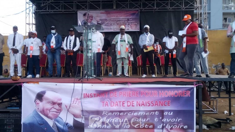 Côte d'Ivoire : Yopougon, le RHDP rend hommage à Félix Houphouët Boigny et demande à ses militants d'aller chercher leur carte d'électeurs pour voter pour son héritier