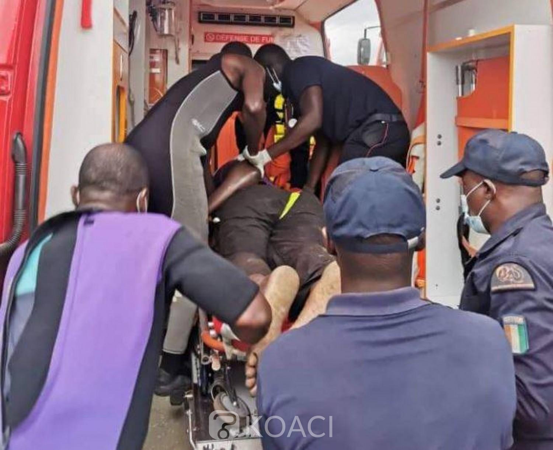 Côte d'Ivoire : Drame, à Koumassi, un homme fait une chute brutale d'une drague et décède quelques minutes après à l'hôpital
