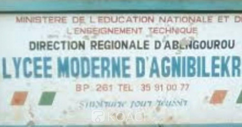 Côte d'Ivoire : Quand le décès tragique d'un enseignant fait suspendre les cours dans un lycée d'Agnibilékrou