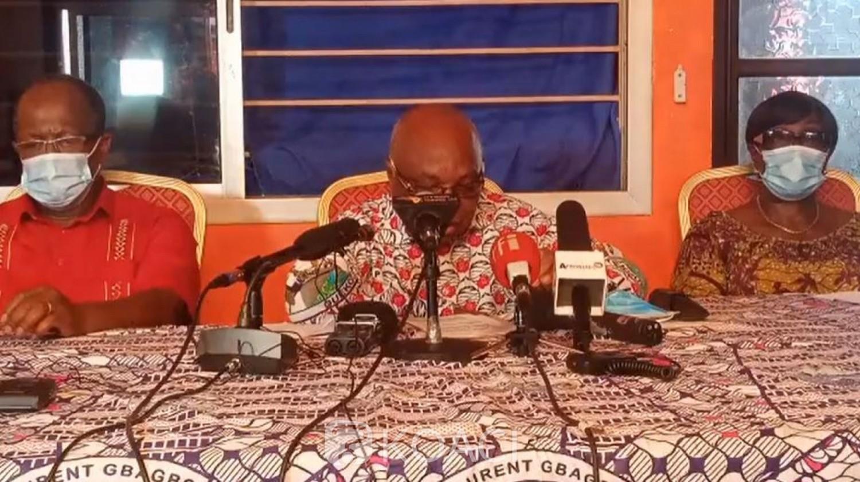 Côte d'Ivoire : A 11 jours des élections, le parti de Gbagbo fustige la CEDEAO et réitère l'arrêt du processus électoral