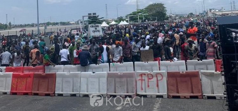 Nigeria :  Manifestations « EndSARS », Buhari calme les jeunes, couvre-feu à Lagos