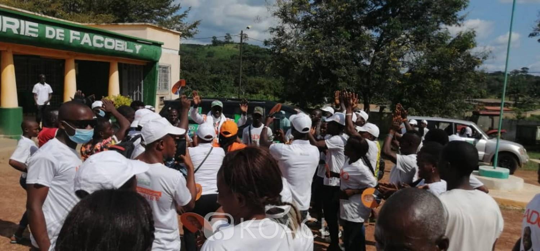 Côte d'Ivoire :   Présidentielle, le RHDP satisfait du bon déroulement de de la campagne de son candidat mais déplore les incidents survenus dans certaines localités de l'intérieur