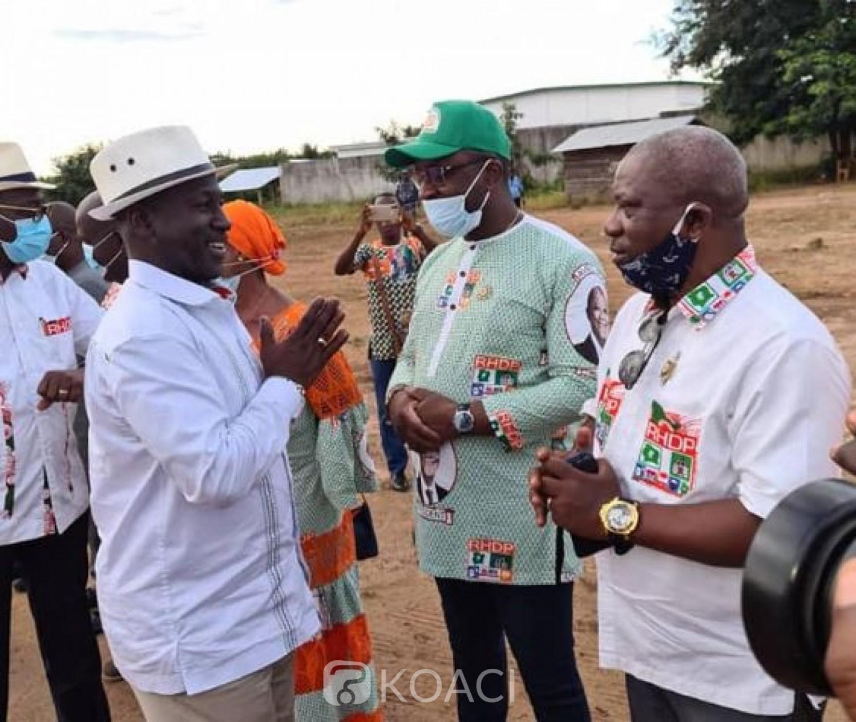 Côte d'Ivoire : Élection 2020, le député Thierry Tailly veut assurer une victoire écrasante à Ouattara «Bangolo n'est la chasse gardée d'aucun parti politique»