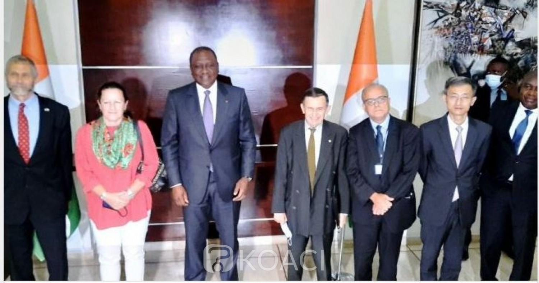Côte d'Ivoire : A l'approche du vote présidentiel, les ambassadeurs des pays membres du Conseil de sécurité ont rencontré Hamed Bakayoko