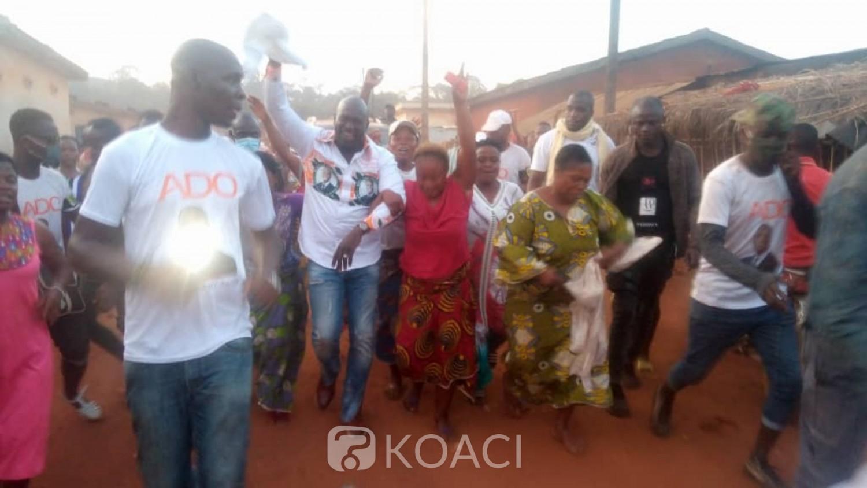Côte d'Ivoire : Méambly place le département de Facobly dans la joie de la campagne présidentielle pour Ouattara