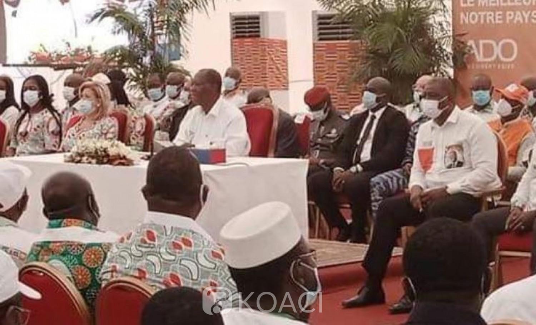 Côte d'Ivoire : Depuis Abengourou, Ouattara met en garde les auteurs de la désobéissance civile et annonce l'élection législative avant la fin 2020
