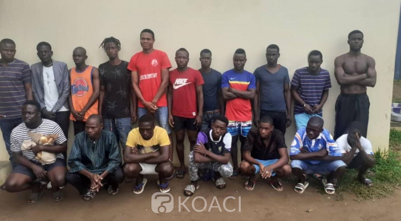 Côte d'Ivoire : Casseurs manipulés par la politique? La police fait un appel à témoin, plusieurs personnes identifiées sur des photos