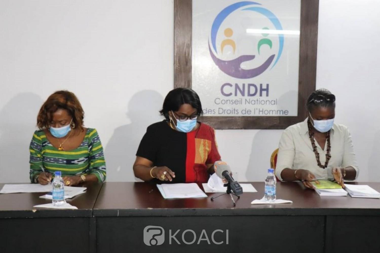 Côte d'Ivoire : Après la CEDEAO, l'ONU et l'UA, le CNDH exige la levée du mot d'ordre de désobeissance civile