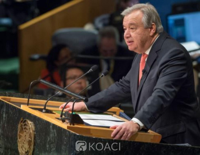 Côte d'Ivoire : Le Secrétaire général de l'ONU « encourage tous les acteurs politiques et leurs partisans à s'engager dans un dialogue constructif»