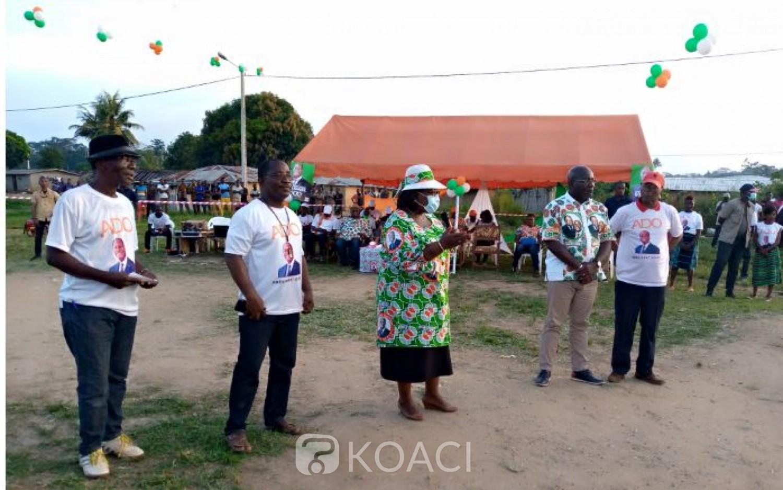Côte d'Ivoire : Anne Ouloto à ses parents de Toulepleu : « Faisons la politique avec la raison et non avec le cœur »