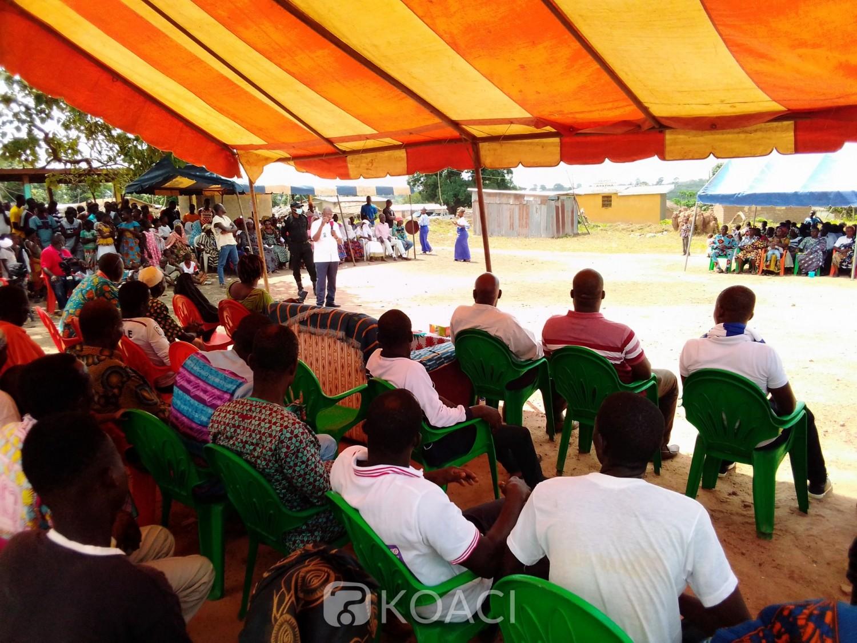 Côte d'Ivoire : Bouaké, devant leur fils, la population du canton N'Dranouan promet le 1 coup KO au candidat Ouattara