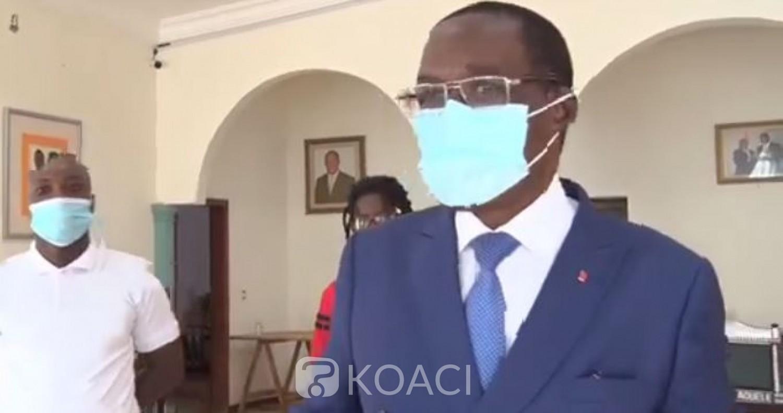 Côte d'Ivoire : L'infox annonce un crash d'avion dans lequel le ministre Aka Aouélé et des cadres du RHDP seraient dans le coma, faux