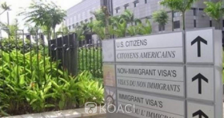 Côte d'Ivoire : Appels à la Désobéissance Civile, l'Ambassade des USA  recommande aux citoyens américains d'éviter les grandes foules et de rester vigilants