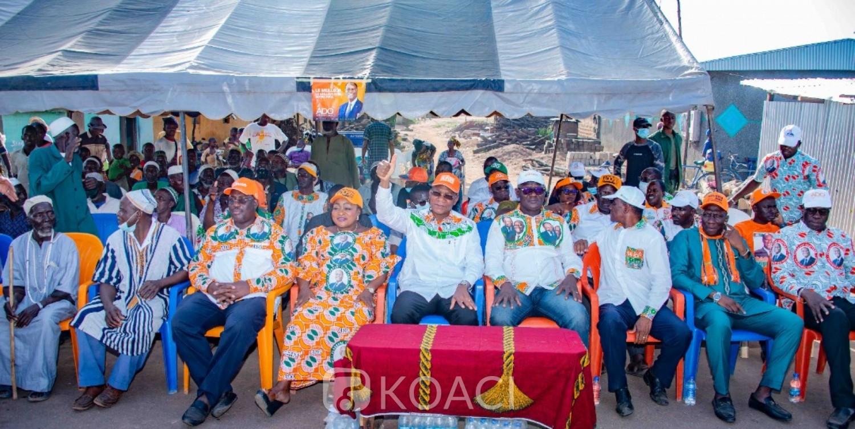 Côte d'Ivoire : Après les événements de Dabou, depuis la Bagoué Bruno Koné aux militants RHDP « ne tombez pas dans le piège que nos adversaires sont entrain de nous tendre »