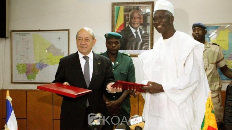 Mali-France : Pour Jean-Yves Le Drian, un dialogue avec les jihadistes est «impossible»