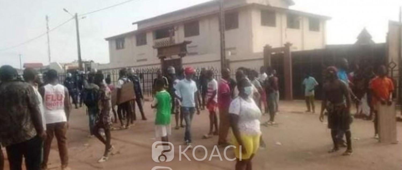 Côte d'Ivoire : Manifestation dispersée à coup de gaz lacrymogène à Abengourou