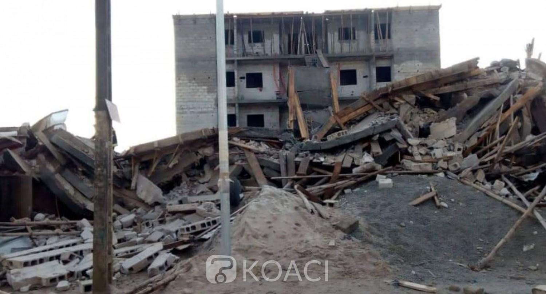 Côte d'Ivoire : Drame à Yopougon, deux morts dans l'effondrement d'un immeuble