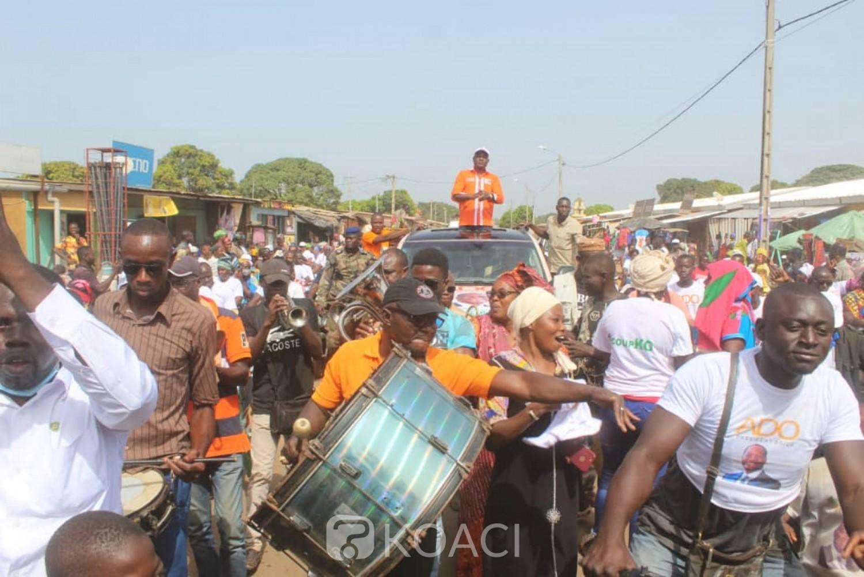 Côte d'Ivoire : Campagne 2020, depuis la Bagoué, Alpha Yaya à l'opposition «Nous n'allons jamais accepter qu'Alassane Ouattara soit humilié»