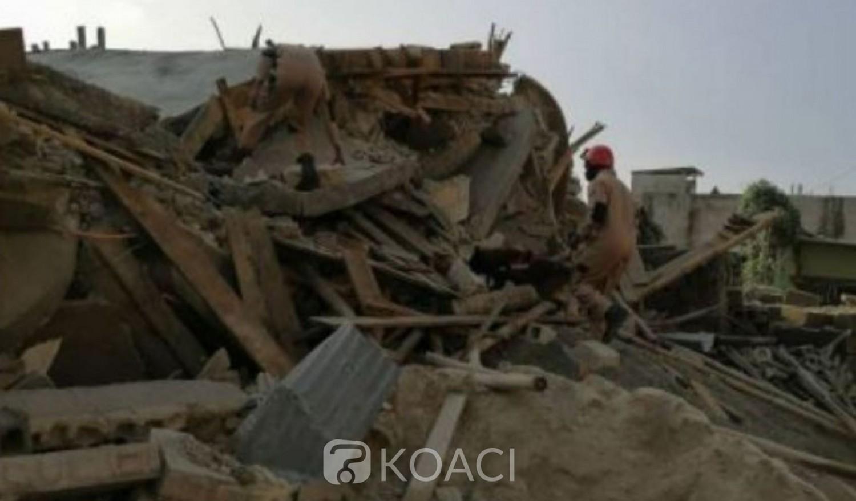 Côte d'Ivoire : Effondrement d'un immeuble à Yopougon, un bébé de huit mois parmi les victimes décédées