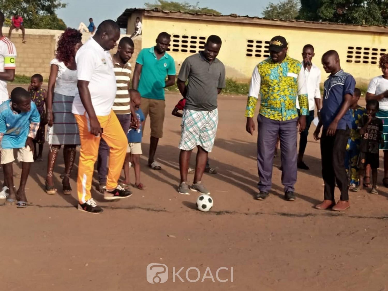 Côte d'Ivoire : Bouaké, à travers le football, la jeunesse engagée à la préservation de la paix et la cohésion sociale
