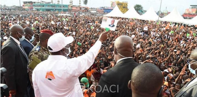 Côte d'Ivoire : J-2 du vote présidentielle, douche froide à Yopougon et marée humaine pour Ouattara à Abobo qui appelle à aller massivement voter samedi