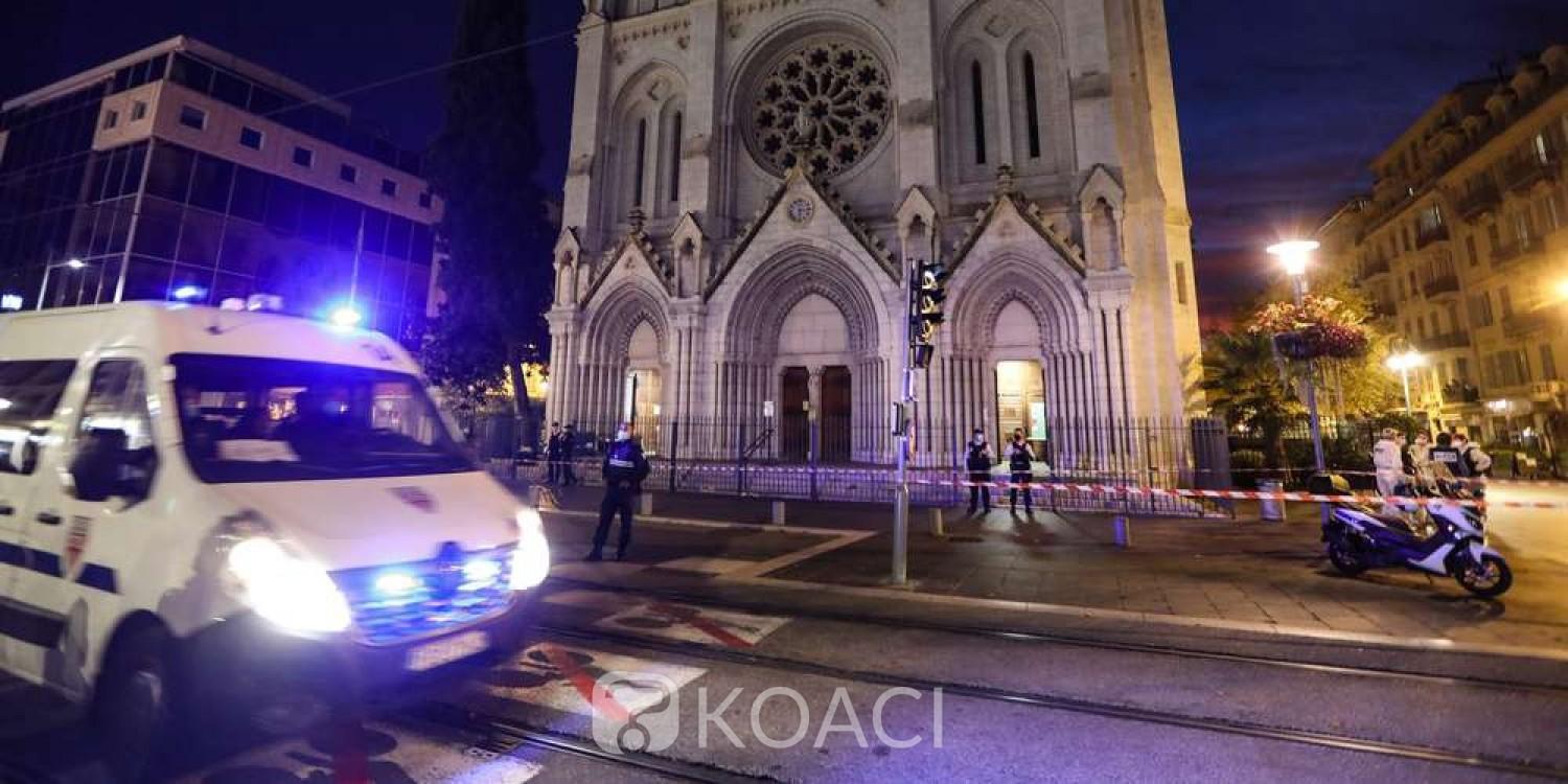 Mauritanie-France : Indignation après une attaque au couteau dans une église, l'assaillant serait un tunisien