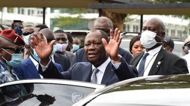 Côte d'Ivoire : Top départ des résultats provisoires de la présidentielle , Ouattara en tête dans 20 départements, de bon taux de participation enregistrés