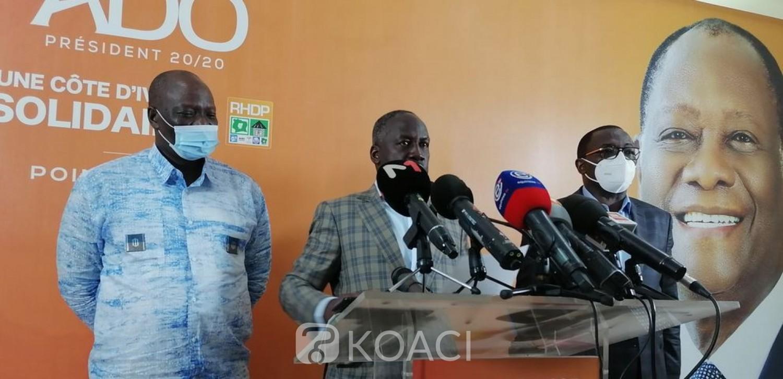 Côte d'Ivoire : Après les violences et les morts, le RHDP qualifie l'opposition « d'irresponsable » et souhaite l'arrestation de Simone Gbagbo, Affi, Guikahuié, Mabri et « consorts »